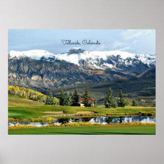 Beautiful Telluride, Colorado Landscape Poster