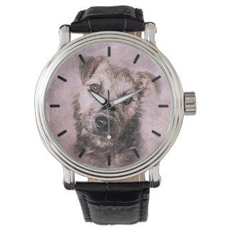 Beautiful Terrier Custom Personalized Watch
