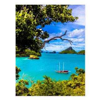 Beautiful Thailand Postcard
