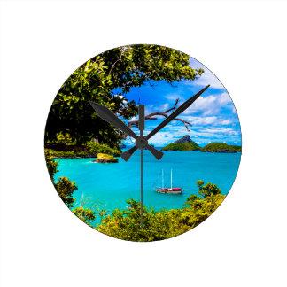 Beautiful Thailand Round Clock
