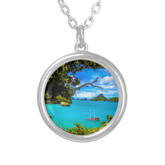 Beautiful Thailand Silver Plated Necklace
