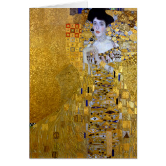 Beautiful The Woman in Gold Gustav Klimt Card