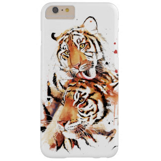 Beautiful tigers, big cats barely there iPhone 6 plus case
