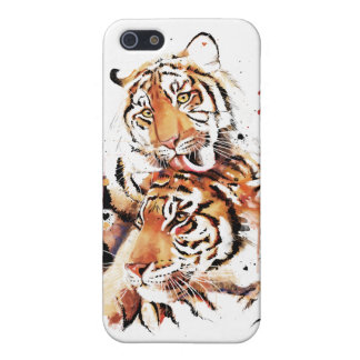Beautiful tigers, big cats cover for iPhone 5/5S