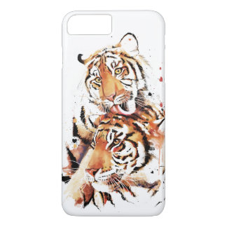 Beautiful tigers, big cats iPhone 7 plus case