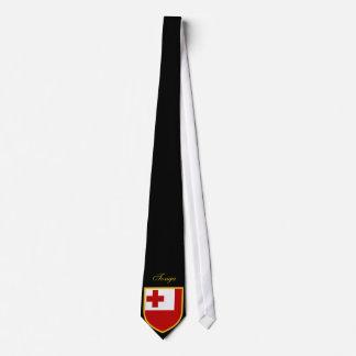 Beautiful Tonga islands Flag Tie