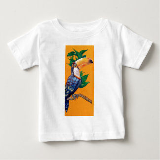 Beautiful Toucan Bird Painting Baby T-Shirt