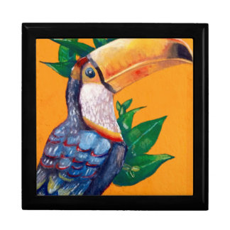 Beautiful Toucan Bird Painting Gift Box