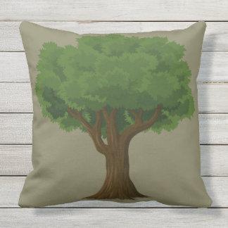 Beautiful Tree Design Outdoor Throw Pillow