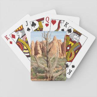 Beautiful Tree near Arches, Utah Playing Cards
