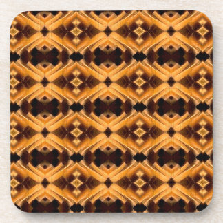 Beautiful Tribal Inspired Pattern Coaster