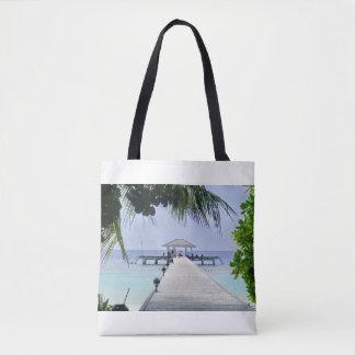 Beautiful Tropical Sea Tote Bag