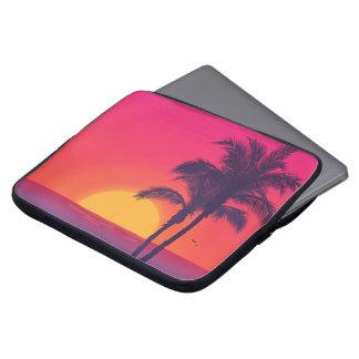 Beautiful Tropical Summer Beach Laptop Sleeve