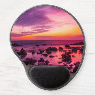 Beautiful Turkey coast at gorgeous sunset time Gel Mouse Pad