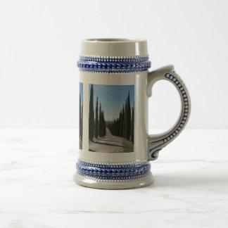 Beautiful Tuscan Cypress Beer Stein