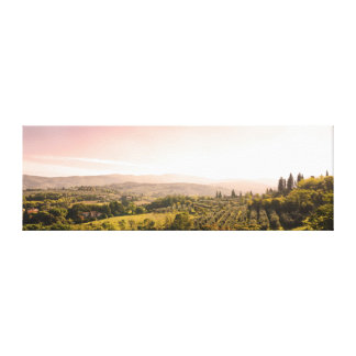 Beautiful tuscan landscape canvas print