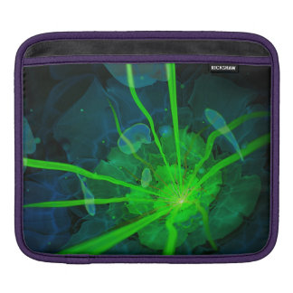 Beautiful Underwater Fractal Flower of Atlantis iPad Sleeves