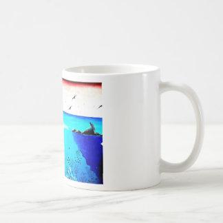 Beautiful Underwater Scene Painting Coffee Mug