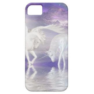 Beautiful Unicorn and Pegasus Fantasy iPhone 5 Cover