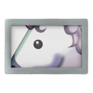 Beautiful Unicorn Emoji Belt Buckle