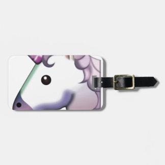 Beautiful Unicorn Emoji Luggage Tag