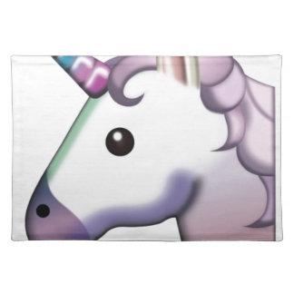 Beautiful Unicorn Emoji Placemat