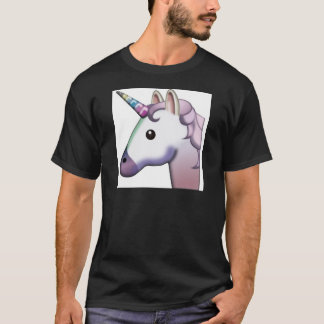 Beautiful Unicorn Emoji T-Shirt