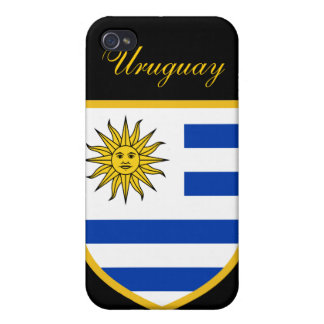 Beautiful Uruguay Flag iPhone 4/4S Cases