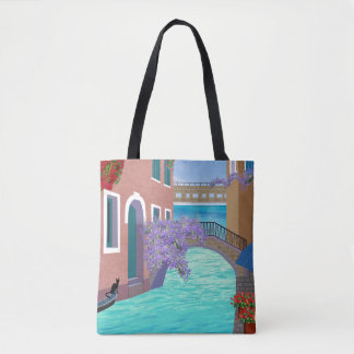 Beautiful Venice Italy Scene Tote Bag