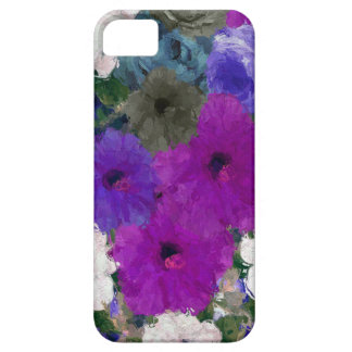 Beautiful Vibrant Abstract Flowers iPhone 5 Case