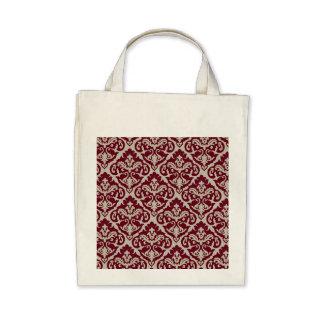 Beautiful Victorian Damask Bags