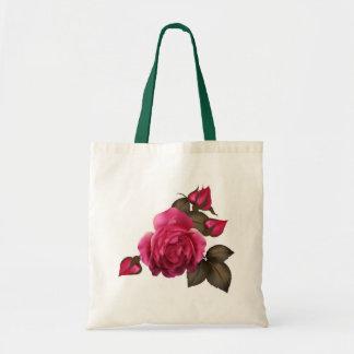 Beautiful Victorian Roses Budget Tote Bag