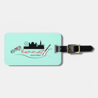 Beautiful Vienna, Austria Luggage Tag