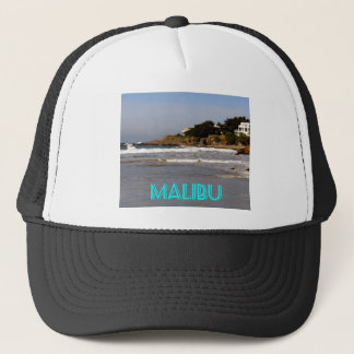 Beautiful view from Sea Level Drive, Malibu, CA Trucker Hat