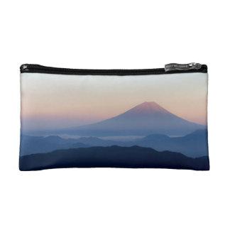 Beautiful view Mt. Fuji, Japan, Sunrise Makeup Bag