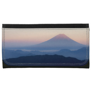 Beautiful view Mt. Fuji, Japan, Sunrise Wallet