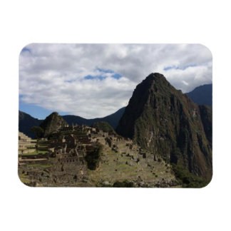 Beautiful View of Machu Picchu Magnet