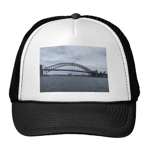 Beautiful View Of The Bridge In Sydney Australia Hats