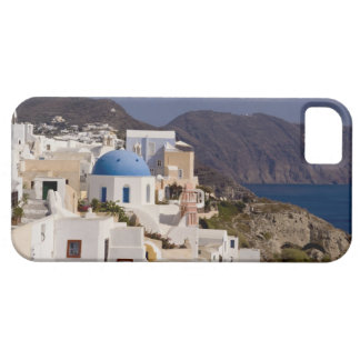 Beautiful village of Oia with white buildings iPhone 5 Cases