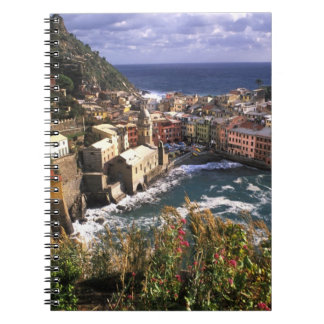 Beautiful Village of Vernazza in the Cinque Notebooks