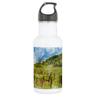 Beautiful Vineyard in Napa Valley 532 Ml Water Bottle