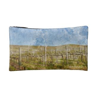 Beautiful Vineyard in Napa Valley Cosmetic Bag