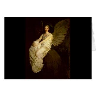 Beautiful Vintage Angel - Abbott Handerson Thayer Card