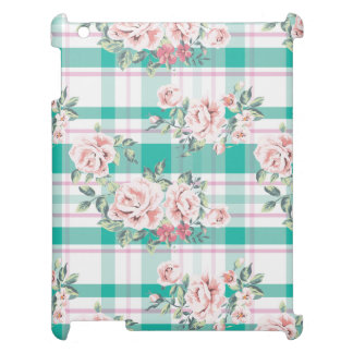 Beautiful Vintage Flowers Rose Pattern Case For The iPad 2 3 4