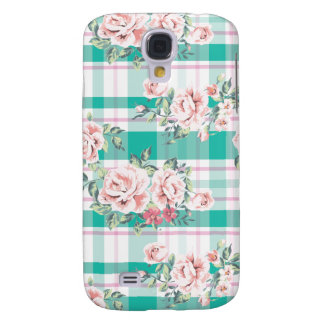 Beautiful Vintage Flowers Rose Pattern Samsung Galaxy S4 Cover