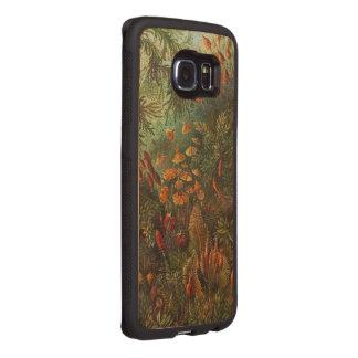 Beautiful Vintage Flowers Wood Phone Case