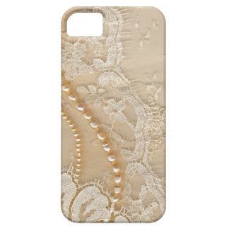 Beautiful vintage Lace & Pearls iPhone 5 5S Case For The iPhone 5