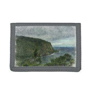 Beautiful Waipio Valley Trifold Wallet