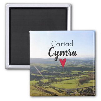 Beautiful Wales Hill View Landscape Welsh Souvenir Magnet
