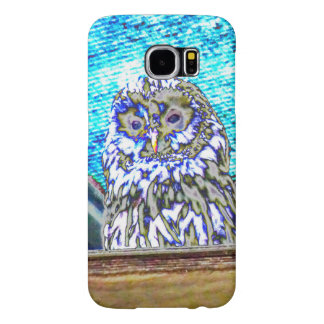 Beautiful Watching Owl Samsung Galaxy S6 Cases